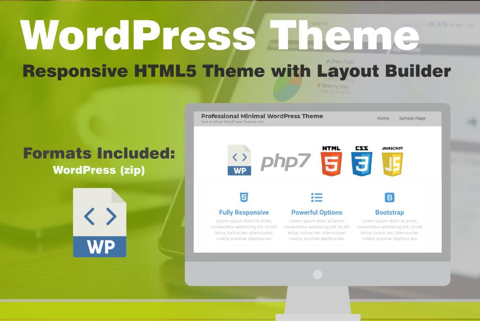 Digital Marketing Responsive WordPress Theme HTML5 CSS3