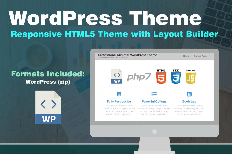Lawyer Website Marketing Responsive WordPress Theme HTML5 CSS3