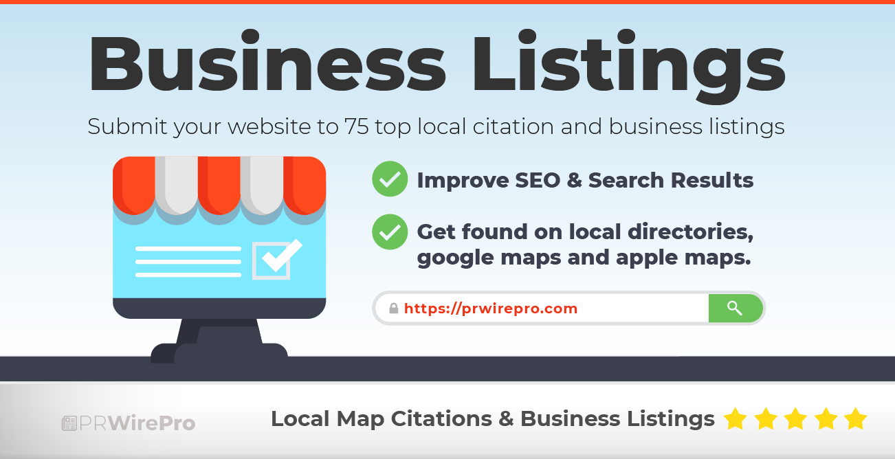 Business Listings and Local Citations - PR Wire Pro