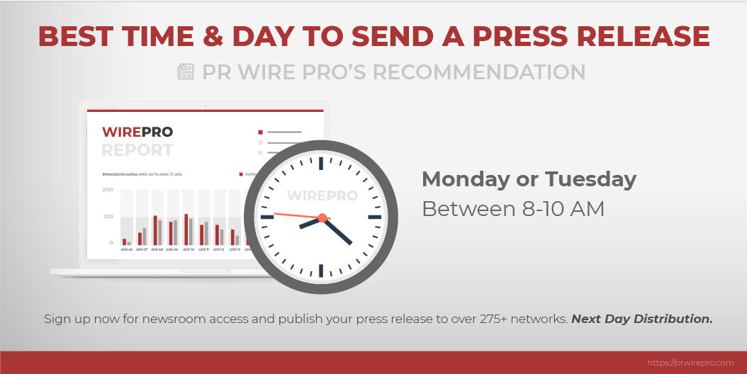 The Best Time and Day To Send A Press Release