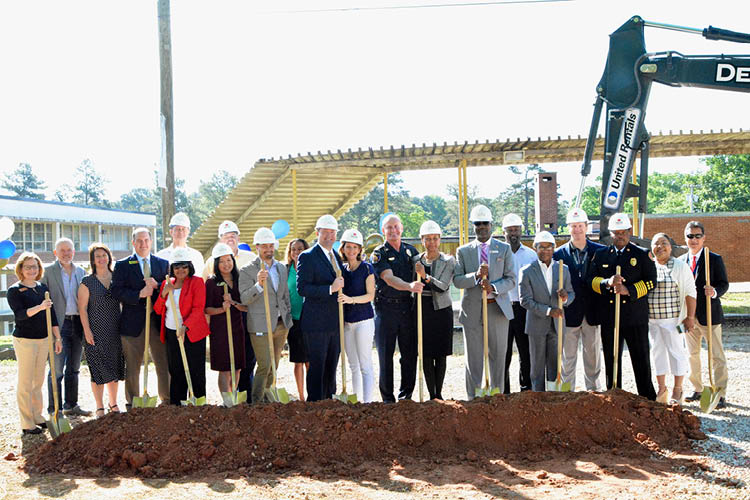 Landmark Celebrates Groundbreaking of New High School