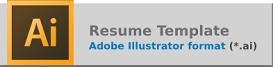 Resume Template Adobe Illustrator Download