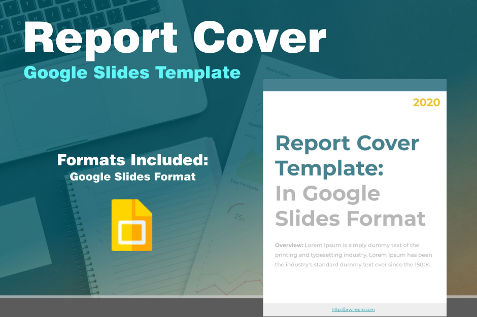 Report Cover Template Google Slides Format PDF WORD DOC PPTX ODP SVG