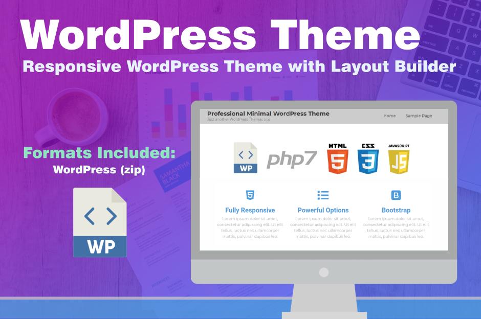 SEO Marketing Responsive WordPress Theme HTML5 CSS3 Template