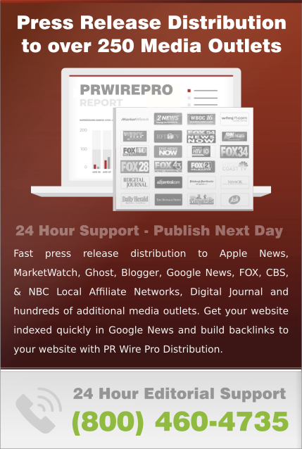 Press Release Distribution PR WIRE PRO Advertising Services Marketing